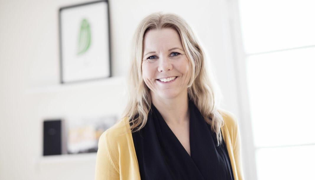Titti Rodling, vd för branschorganisationen SLAO har alla anledning att se glad ut. Ny statistik visar att Sveriges skidanläggningar sålt många liftkort under pandemisäsongen 20/21.