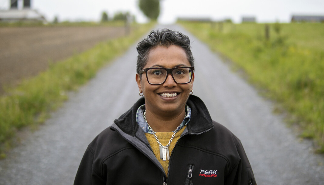 Preethi Huczkowski som är anställd på Torsta är också mässgeneral för Torstas stora Skogs- och Lantbruksmässa. Hon är glad över att beslut tagits att genomföra en mässan i oktober.