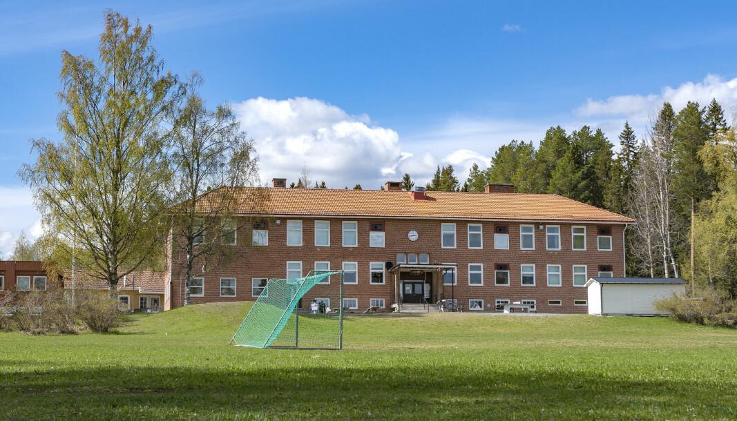 Östersunds kommun är den som får mest av extrapengarna till skolan pg av pandemin En del av pengarna kanske hamnar här på Ångsta skola. Arkivbild