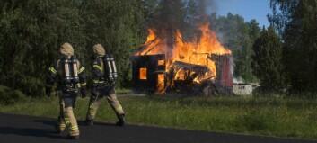 En person gripen efter villabrand i Backe – två boende klarade sig oskadda