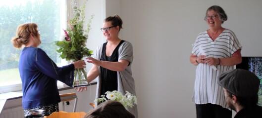 Lina Sofia Lundin är upptagen med skogsprojekt – har fått konststipendium