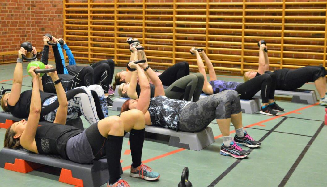 Bräcke Sportklubb hade betydligt mer verksamhet i simhallen än vad politikerna visste om. Nu har det blivit lovade en ny lokal. FOTO: Bräcke Sportklubb.