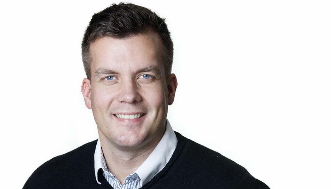 Linus Ekqvist är VD på Krokomsbostäder.