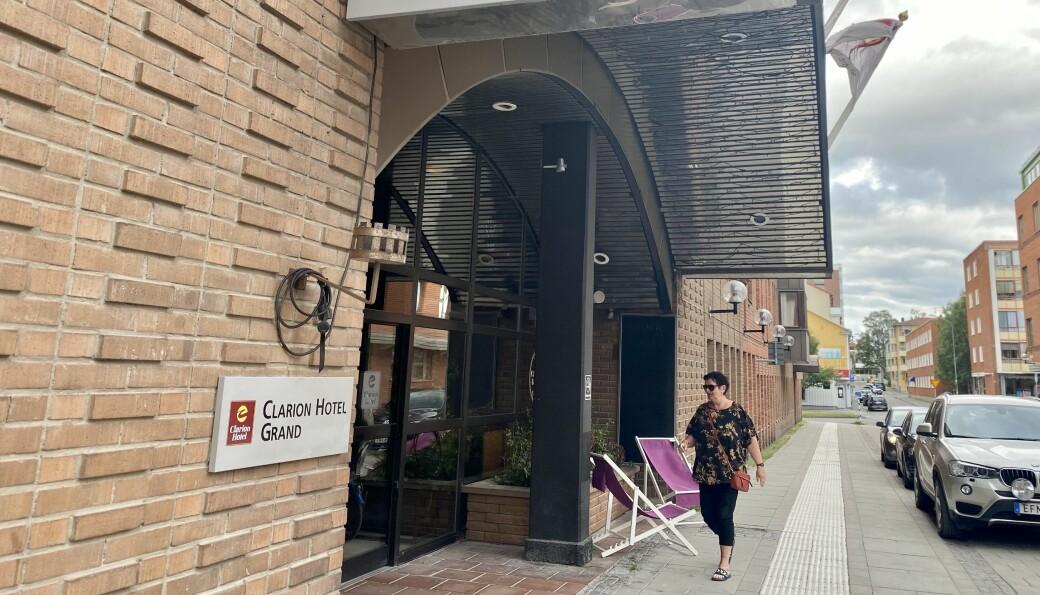 """Clarion Hotel Grand upplever också en ökning av antalet bokningar. """"Det ser väldigt bra ut. Vi är väldigt glada för alla svenska gäster och hoppas att det blir en trend som håller i sig även efter pandemin"""", säger Nicki Eby, hotelldirektör."""