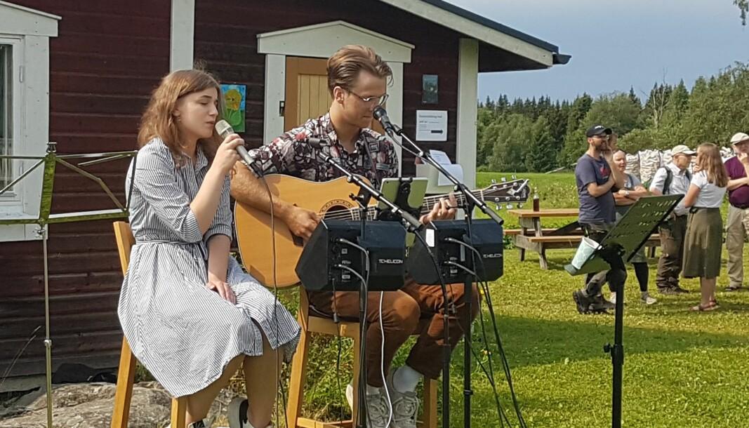 Rebecca Eriksson, Joxåsen och Hugo Danielsson, Ås var några av dem som bjöd på skönsång med sina egna tolkningar av kända låtar.