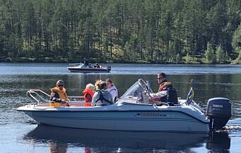 Välbesökt båtbingo under Härdalsveckan