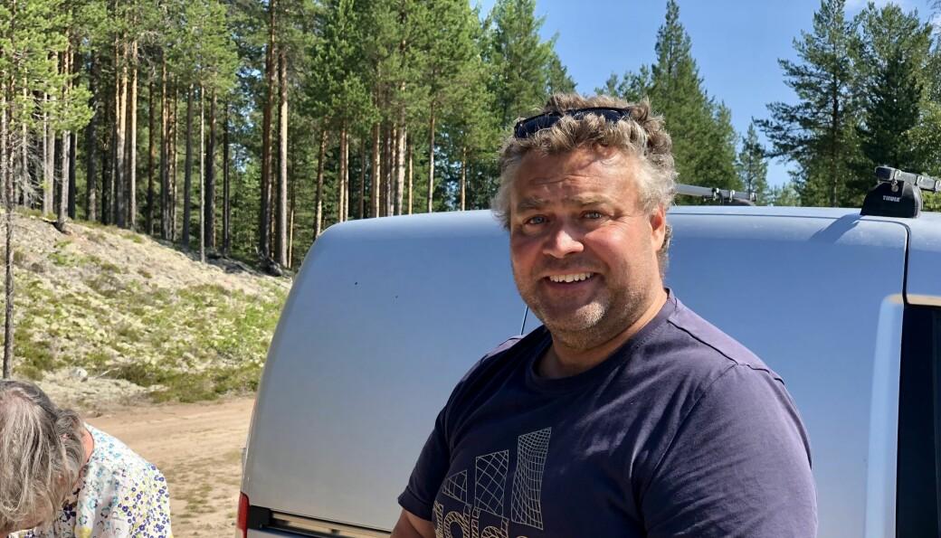 Ulf Persson anordnade båtbingo på Orrmosjön som en del av Härdalsveckan.
