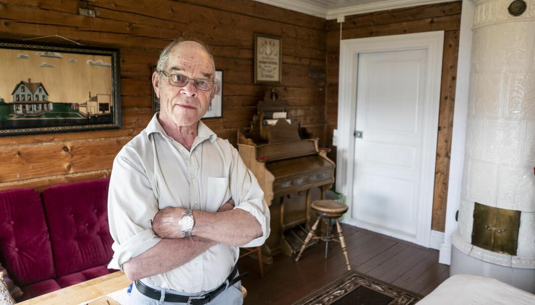 Martti Vestmans pappa Fridolf anställde en 17-årig Gunder Hägg som dräng och lät honom samtidigt satsa på löpningen. I den här drängkammaren bodde Gunder i mitten på 30-talet.