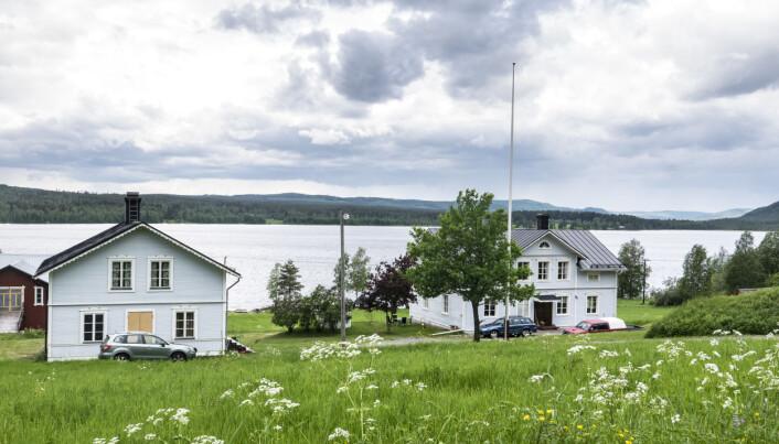 På gården i Svedje varvade Gunder Hägg stenhård träning med arbete som dräng.