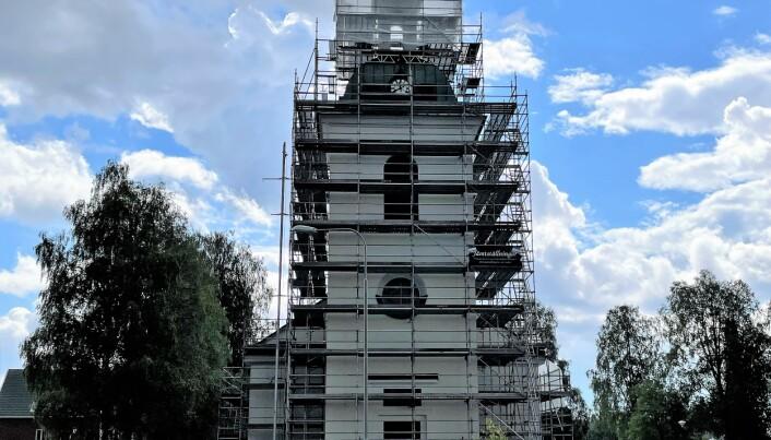 Ströms kyrka ska målas och tornet ska förbättras. Återinvigningen beräknas kunna hållas första helgen i oktober.