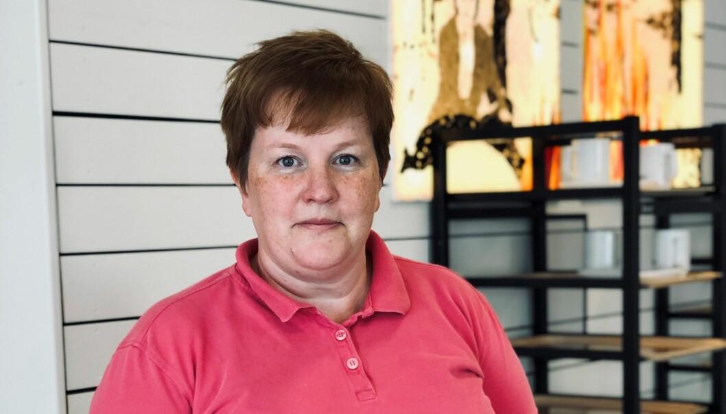 Renate Alstad driver Renates Bageri & Restaurang i Krokom.