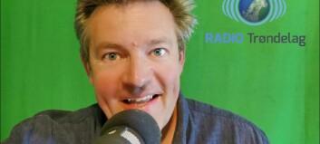 Kjell-Erik sänder norsk radio från Bredbyn