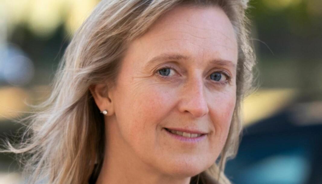 Marie Nordmark, områdeschef på Länstrafiken Jämtland säger att pandemirestriktionerna gjort att Länstrafiken i Jämtlands prognos för tappade intäkter är på 11 miljoner kronor. Foto: Region Jämtland Härjedalen