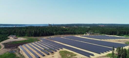 Inget klirr i kassan för andelsägarna av Solparken i Östersund