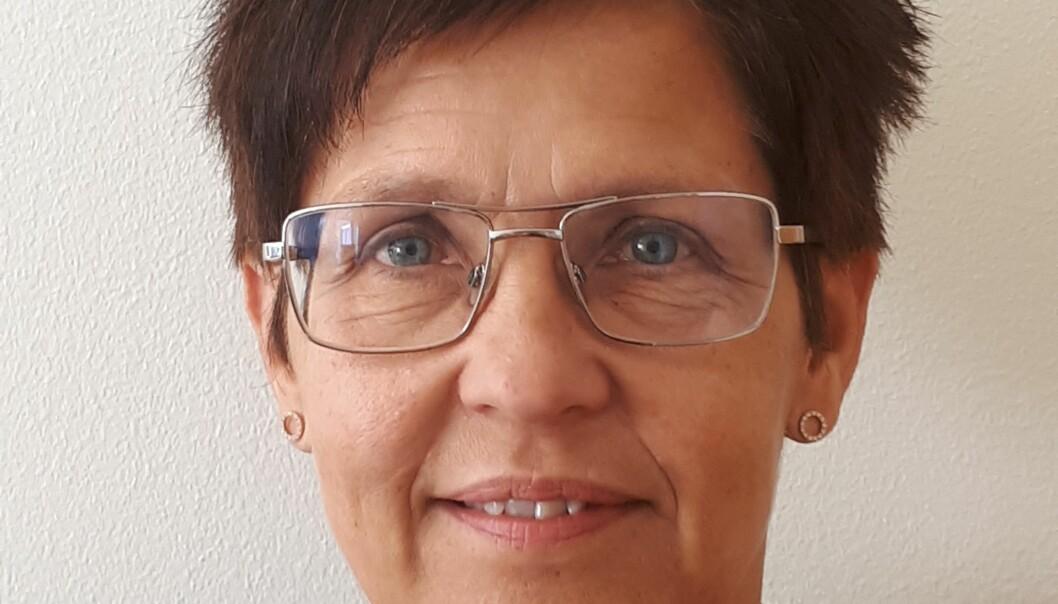 Helen Löfgren-Larsson, chef på enheten för chef på enheten för Avfall, vatten och avlopp i Strömsunds kommun, berättar att kommunen ska undersöka om reningsteknik för läkemedelsrester går att implementera på Strömsunds reningsverk. Foto: Privat