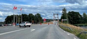 Hemtjänsten fick nej – får inte köra över Strömsundsbron under avstängningarna