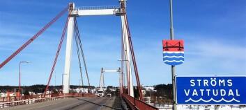 Strömsundsbron avstängd till december – omledningsväg besiktas
