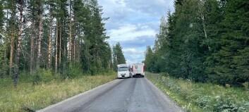 Här kolliderar husbilarna
