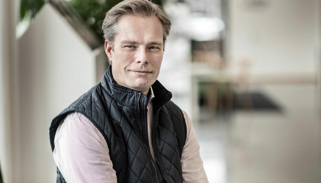 """Mattias Lööv: Höjda hyror är att räkna med när Östersundshem renoverar runt 2600 lägenheter. """"Går man in i lägenheten och gör en standardhöjande åtgärd så påverkar det så klart hyresgästerna"""", säger Mattias Lööv, ordförande i Östersundshem."""