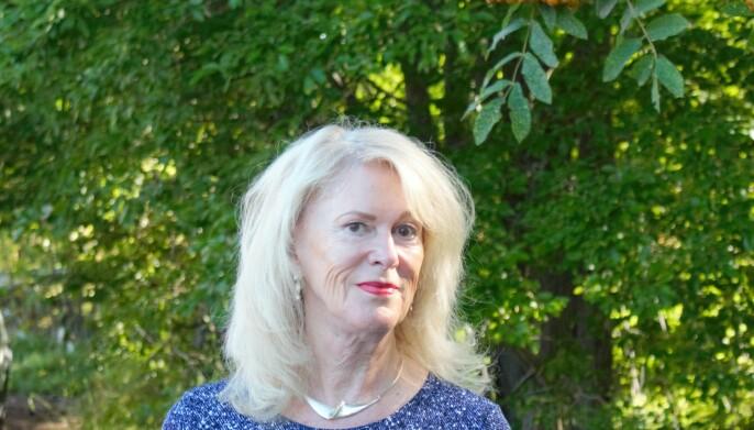 Styrelseordförande i Landstingsbostäder Elisabet Sjöström ingår i den styrgrupp som ska sälja 30 till 40 lägenheter av bolagets bestånd som idag är 480 lägenheter. Foto: Torbjörn Aronsson
