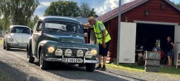 Veteranbilscafé i Brynje lockade över tvåhundra klassiska bilar