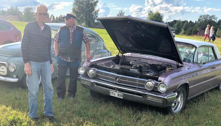 Örjan Odin och Christer Borgsten kom till Brynje i en rosa Buick Electra 225, årsmodell 1962.