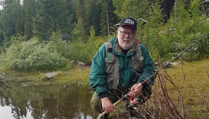 Conny Elf har i 3 år varit projektledare för Fiskedestination Berg