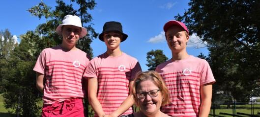 Glassig upplevelse i Ytterån lär ungdomar service