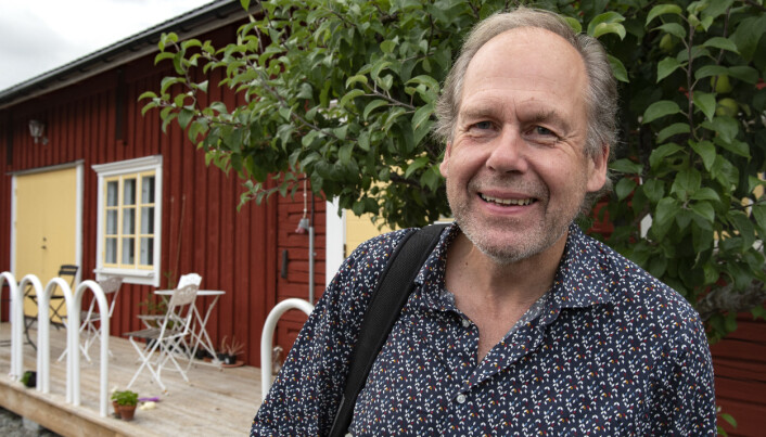 – För 6 år sedan monterade jag ner båsplatser och kättar och allt som fanns sedan tiden mor och far bedrev jordbruk. 2018 tog själva nybygget av innandömet fart, berättar Bengt-Eric Norlén.