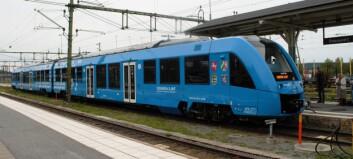 Premiär för vätgaståg i Östersund - kan bli framtiden för Inlandsbanan