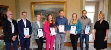 """Sex unga fick Sven O Perssons stipendium - kaféidkaren Andrea: """"det tror jag kommer hjälpa jättemycket"""""""