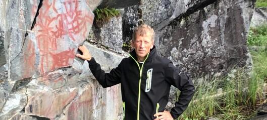 5000-åriga hällmålningar i Åre bland de äldsta i landet