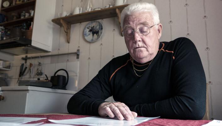 Östersundshem vill totalrenovera Kjell-Erik Vikanders lägenhet i kvarteret Hjorten. Men han oroas över en saftig hyreshöjning.