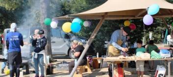 Lyckad Befriendfestival med vaccinering för invandrare i Badhusparken