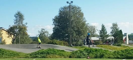 Invigningen av Pumptrack i Myrviken var så mycket mer än pumptrack