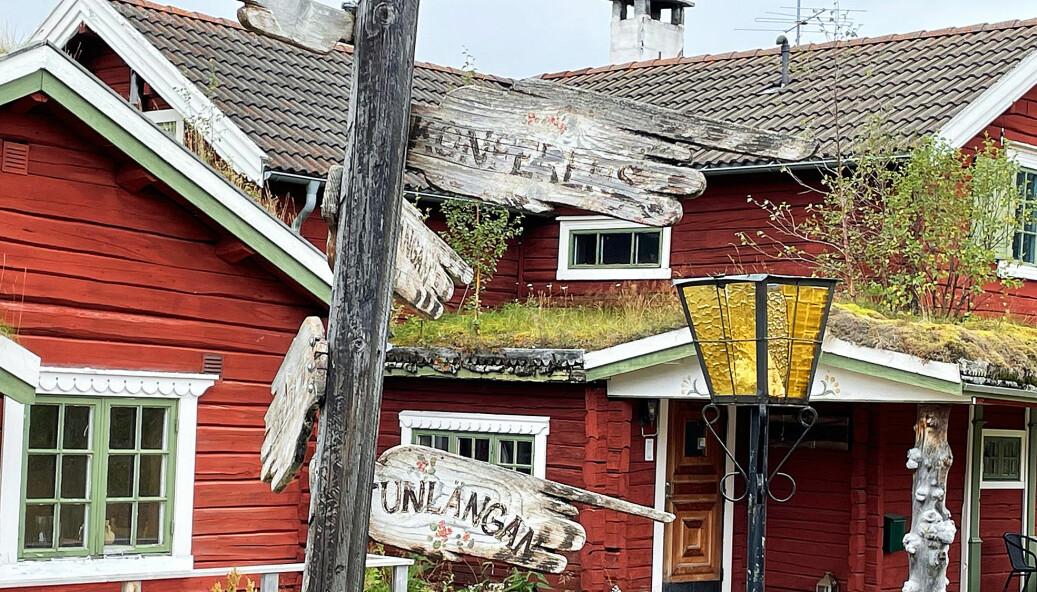 Vad händer med anrika Tänndalen Fjällgård? Hotellet som blev prisat av White Guide 2010 är stängt sedan länge. Foto Håkan Persson