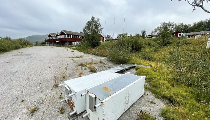 Renoveringen för fyra år sedan slutade med blåsta företagare och förfallet startade. Foto Håkan Persson