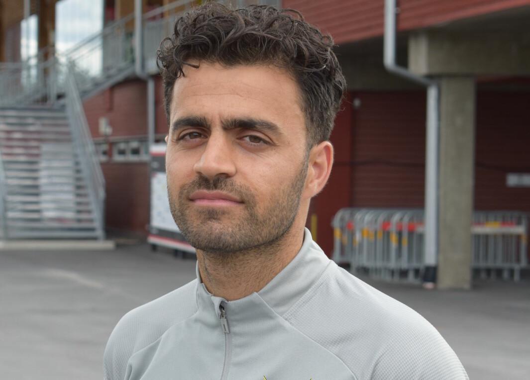 Amir Azrafshan får sparken från ÖFK.
