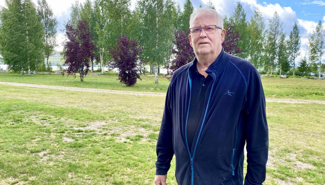 Stefan Andersson driver campingen i Bräcke, som har haft en riktig succésommar.