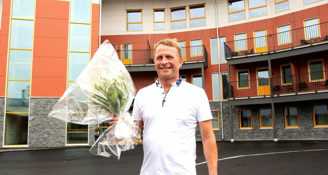 – Det är roligt att vara nominerad. Sedan är det en bit kvar, det är ett fint sällskap som vi konkurrerar med. Det är ett väldigt starkt startfält, säger Anders Backskog vd Hotell Klövsjöfjäll.