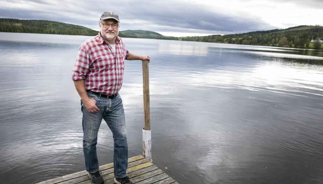 Bengt Lundqvist är ordförande för Revsundssjöns Södra fiskevårdsområde, som just nu storsatsar på ett flertal åtgärder. Det planteras ut rom, röding och kräftor samtidigt som man också underlättar för öringens vandringsvägar.