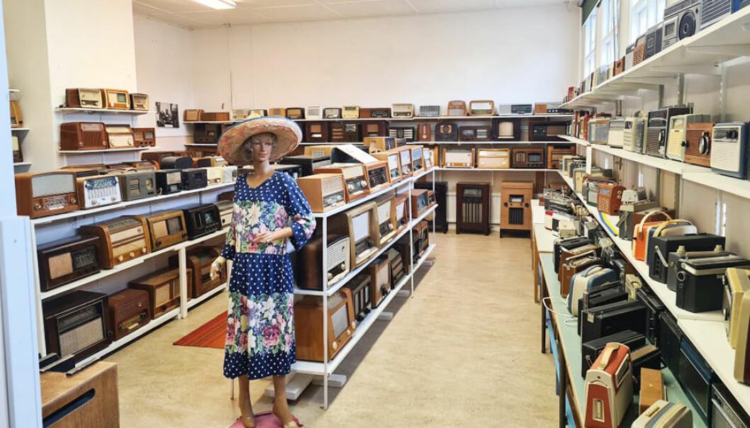 Radiomuseet i Kälarne innehåller hela 800 objekt. Nu ska allt säljas på auktion av Jämtlands Auktionsbyrå. FOTO: Jämtlands Auktionsbyrå.