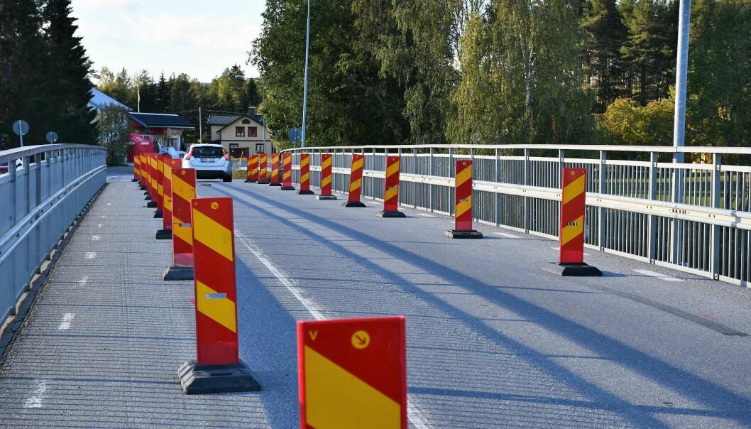 Bron längs väg 346 i Rossön. Foto: Inger Kraft Etzler