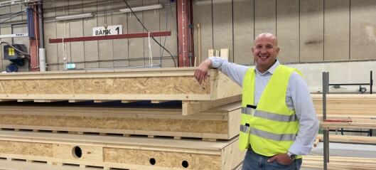 """Norrlands Trähus storsatsar på höghus – """"revolutionerande för träbranschen"""""""