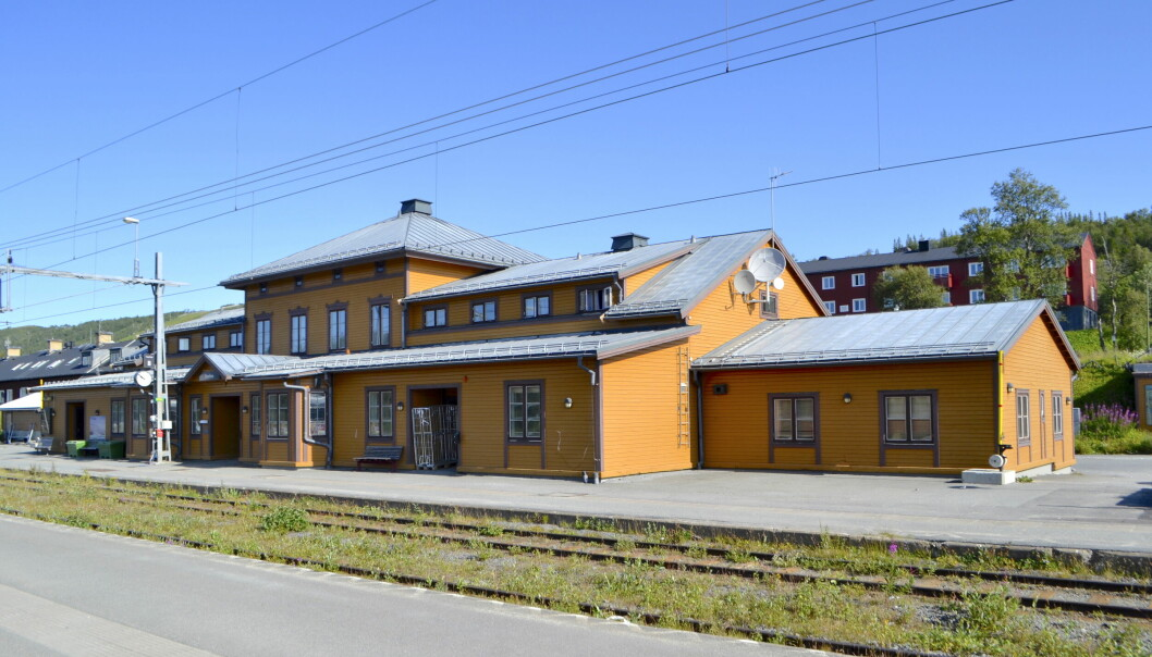 Hit men inte längre, järnvägsstationen i Storlien blir slutmålet för de som planerat att åka tåg Östersund-Trondheim. Arkivbild
