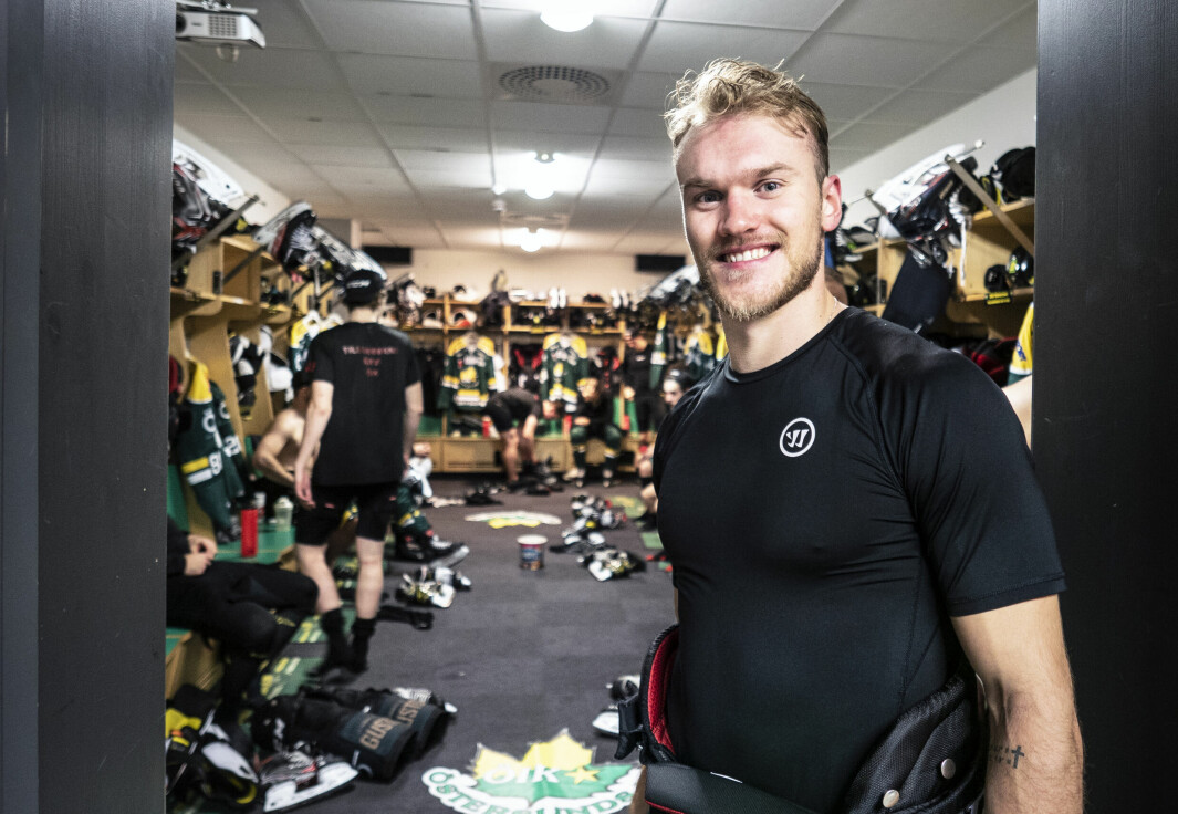 Kanadensaren Braylon Shmyr har visat framfötterna redan från start i Östersund. I onsdagens segermatch mot Vännäs stod han för ett snyggt 3–1-mål.