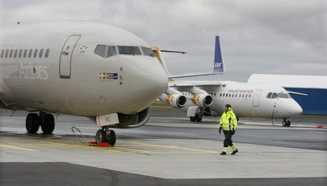 Nu börjar verksamheten på Åre Östersunds flygplats återgå till det normala Arkivbild