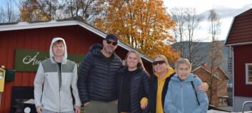 Norgefest på Åres gator
