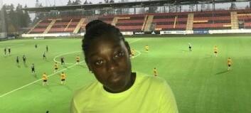 Precious startade egen fotbollsskola i Östersund