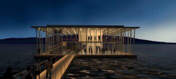 Ett flytande kulturhus föreslås på Åresjön